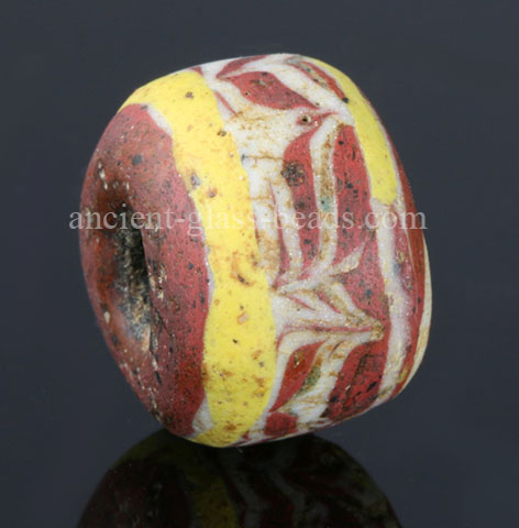 Ancient Germanic glass bead 83TM