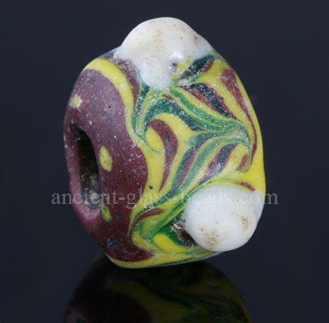 Ancient Germanic glass bead 97TM