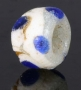 Ancient glass layered eye bead, Persia